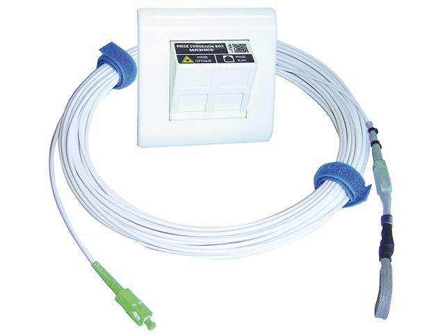 Kits de raccordement des box optiques for Raccordement a la fibre